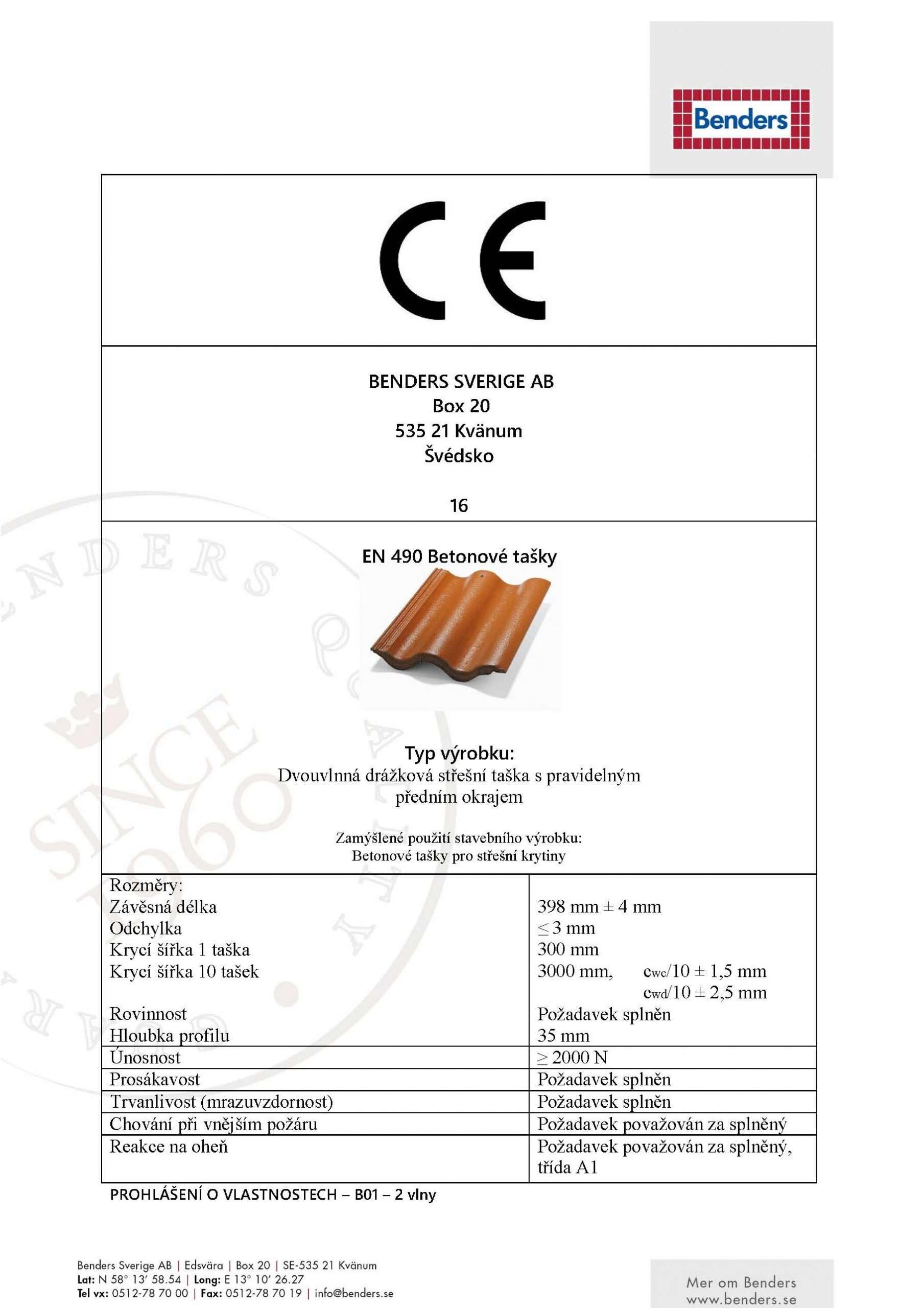 CE-certifikát prohlášení o shodě-Palema - překlad