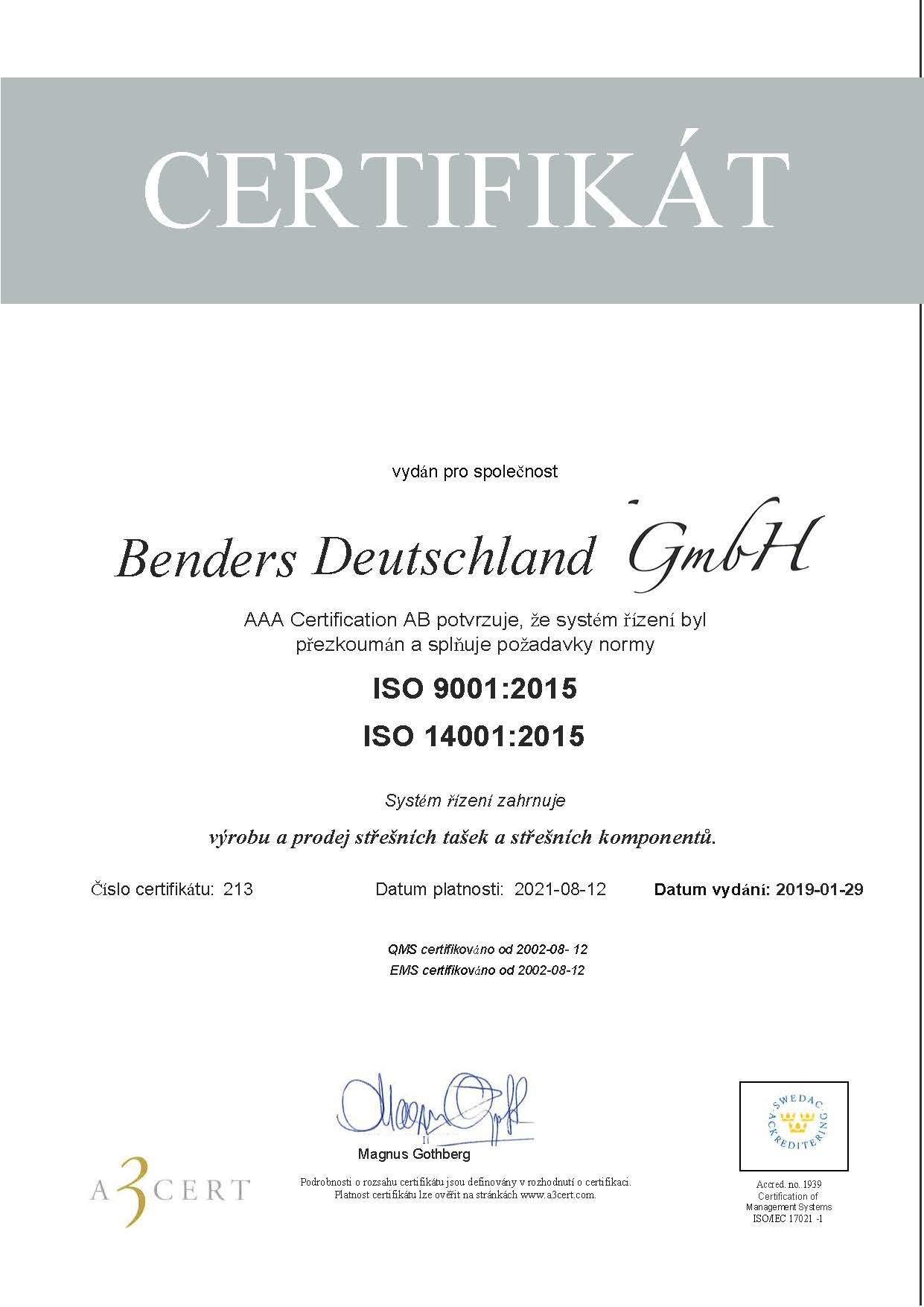 ISO Certifikat 20190129-překlad